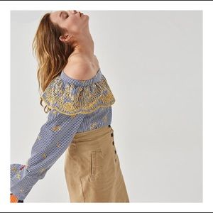 Tops - Ashoreshop Women's Designer embroidery Blouses